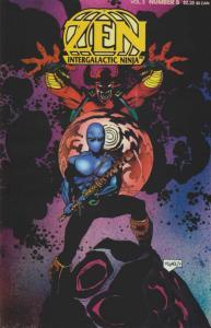 Zen, Intergalactic Ninja (3rd Series) #5 FN; Zen | save on shipping - details in