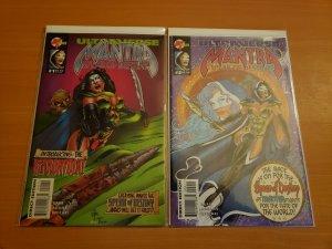 Mantra Spear of Destiny 1-2 Complete Set Run! ~ NEAR MINT NM ~ 1995 Malibu Comic