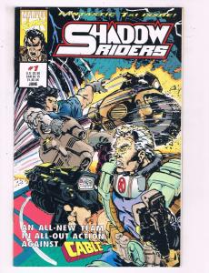 Shadow Riders #1 VF Marvel Comics Comic Book DE19