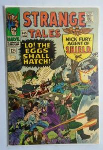 Strange Tales (1st Series) #145, Cover Split to One Staple 3.0 (1966)