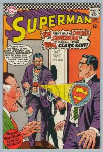 Superman 198 Jul 1967 FI- (5.5)