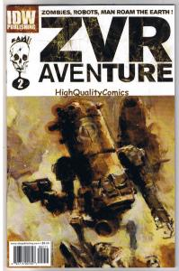 ZOMBIES VS ROBOTS AVENTURE #2 ,NM+, ZVR, Ashley Wood, 2010, more in store