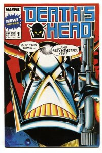 Death's Head #1 1988-Marvel UK-First issue-comic book