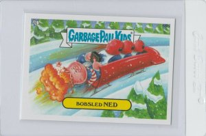 Garbage Pail Kids Bobsled Ned 66b GPK 2014 Series 1 trading card sticker