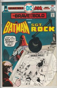 Brave and the Bold, The #124 (Jan-76) NM- High-Grade Batman, Sgt. Rock
