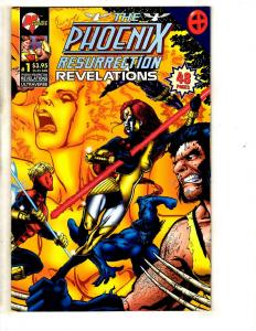 10 Comics Phoenix Resurrection Revelation 1 (8) Aftermath 1 (3) Mantra 10 SS8