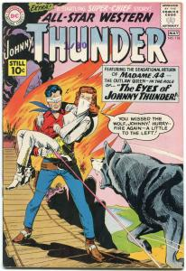 All Star Western #118 1961-DC Silver Age- Johnny Thunder Madame 44 VF-
