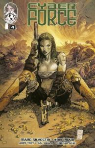 Cyber Force (Vol. 4) #4A VF/NM; Image | save on shipping - details inside