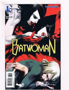 Batwoman # 34 VF 1st Print DC New 52 Comic Book Batman Joker Robin Haun Art S63