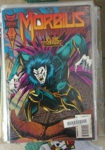 MORBIUS- THE LIVING VAMPIRE # 19  1994 MARVEL JARED LETO MOVIE SOON