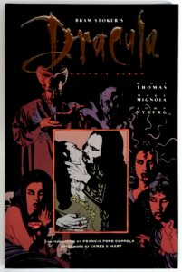 Bram Stoker's Dracula TPB Topps May 1993 Mike Mignola Art & Cover Graphic Novel