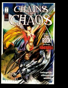 11 Comics Chains Of Chaos #1 2 3 Crow City Of Angels #1 2 3 Sliders 1 +MORE J403