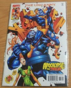 UNCANNY X-MEN #377 2000, Marvel  APOCALYPE THE TWELVE CABLE AOA