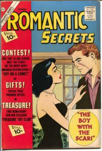 Romantic Secrets #36 1961-Charlton-Scarface cover & story-10¢ cover price-FN