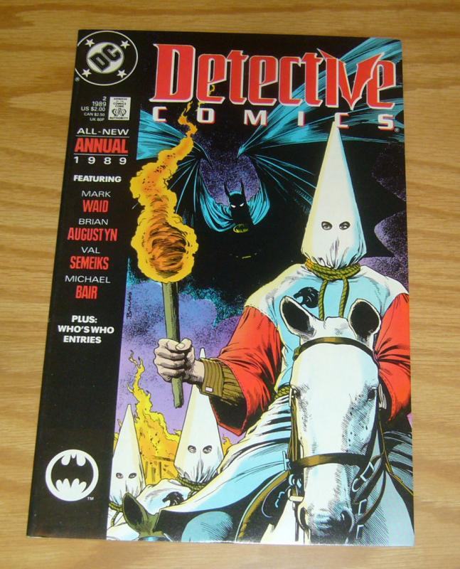 BATMAN vs KU KLUX KLAN VF/NM detective comics ANTI-KKK detective comics annual 2