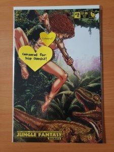 Jungle Fantasy Secrets #2 Lorelei Nude Variant Cover