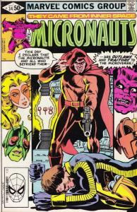 Micronauts (Vol. 1) #34A FN; Marvel | save on shipping - details inside
