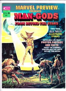 Marvel Preview Magazine #1 (Jan-75) NM- High-Grade Man-Gods