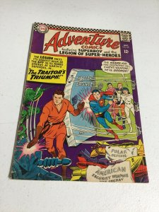 Adventure Comics 347 Vg- Very Good- 3.5 Water Damage DC Comics