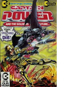 Captain Power and the Soldiers of the Future #2 VG; Continuity | low grade comic