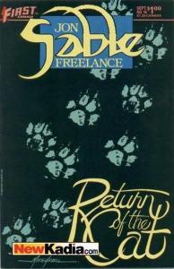 Jon Sable: Freelance #16, VF+ (Stock photo)