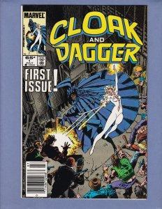 Cloak and Dagger #1 VF Marvel 1985