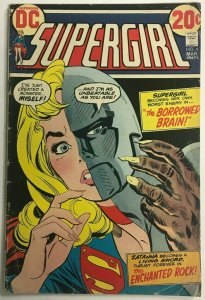 SUPERGIRL#4 VG 1973 DC BRONZE AGE COMICS
