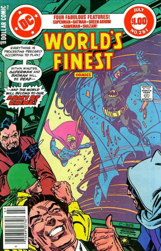 World's Finest Comics #281 VF/NM; DC | save on shipping - details inside