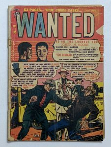 Wanted #37 (May 1951, Orbit) Fair/Good 1.5 Syd Shores cover and art