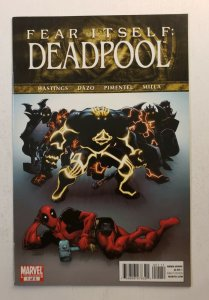 DEADPOOL FEAR ITSELF #1-3 COMPLETE SET MARVEL 2011 VF/NM