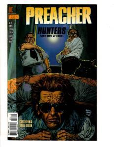 Lot Of 5 Preacher DC Vertigo Comic Books # 14 15 17 18 19 Hunters CR16