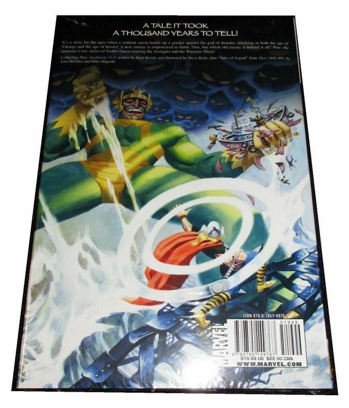 Thor Godstorm Hardcover Graphic Novel (Marvel) - New/Sealed