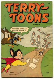 Terry-Toons #67 1948-MIGHTY MOUSE- Golden Age VG/F