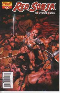 Red Sonja (Dynamite) #55A FN; Dynamite | save on shipping - details inside