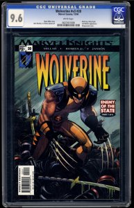 Wolverine (2003) #20 CGC NM+ 9.6 White Pages