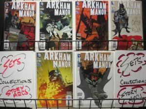 ARKHAM MANOR (2014) 1-6  BATMAN
