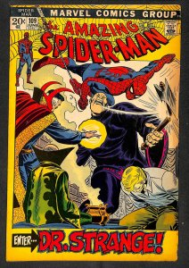 Amazing Spider-Man #109 VG 4.0 Doctor Strange! Marvel Comics Spiderman