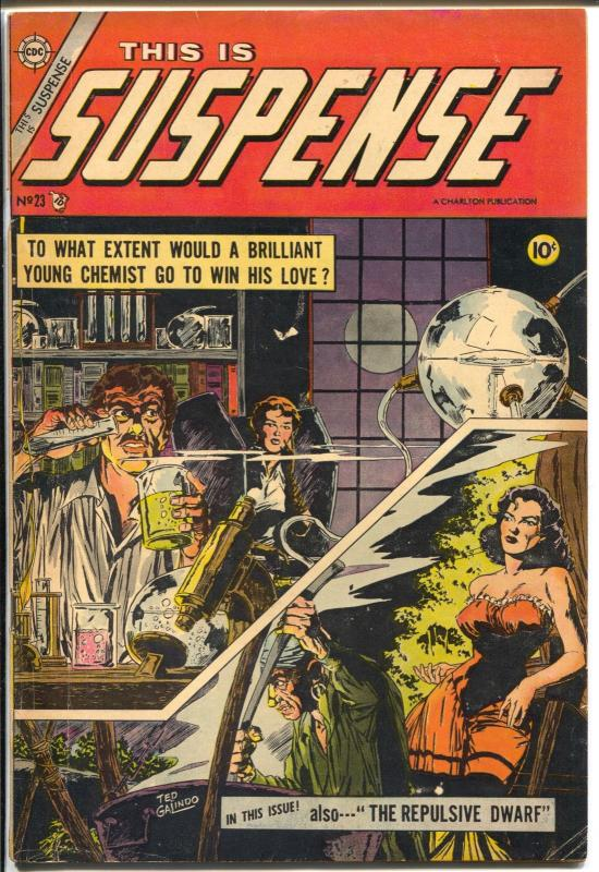 This Is Suspense #23 1955-Charlton-Dick Giordano-Jekyll & Hyde-FN-