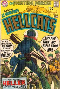 Our Fighting Forces #121 (Oct-69) FN Mid-Grade Lt. Hunter's Hellcats