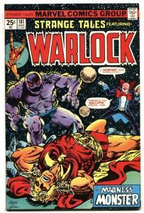 STRANGE TALES #181 comic book WARLOCK-MCU-Guardians of the Galaxy