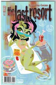 LAST RESORT #4, NM, Darwyn  Cooke, 2009, IDW, more Zombies / Horror  in store