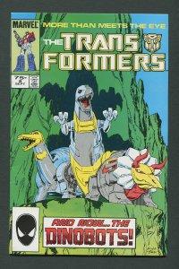 Transformers #8  / 8.0 VFN  August 1985