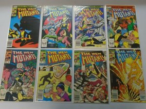 New Mutants comic lot 40 different from #3-85 avg 5.0 VG FN (1983-90 1st Series)