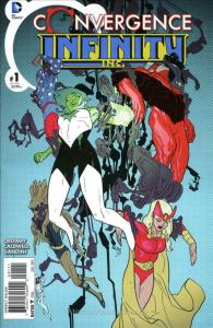 Convergence: Infinity Inc. #1 VF/NM; DC | save on shipping - details inside