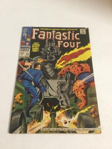 Fantastic Four 80  Vg+ Very Good+ 4.5 Marvel Comics Silver Age