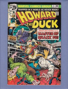 Howard the Duck #3 FN Front/Back Cover Scans Marvel 1976