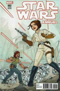 Star Wars (2nd Series) Annual #2A VF/NM; Marvel   save on shipping - details ins