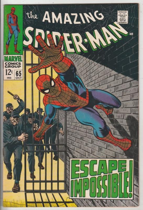 Amazing Spider-Man #65 (Oct-68) NM/NM- High-Grade Spider-Man