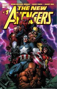 New Avengers #1D VF/NM; Marvel   save on shipping - details inside