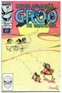 GROO the WANDERER #48, NM, frays, cheese, Sergio Aragones, more Groo in store